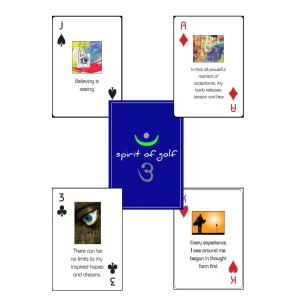 playing cards white